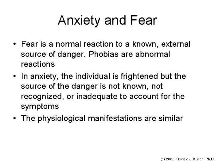 Panic Attacks and Anxiety Quotes