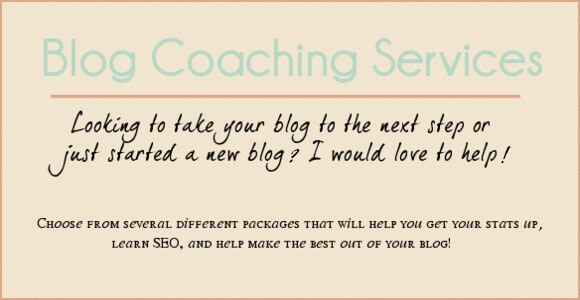 Blog Coaching Services
