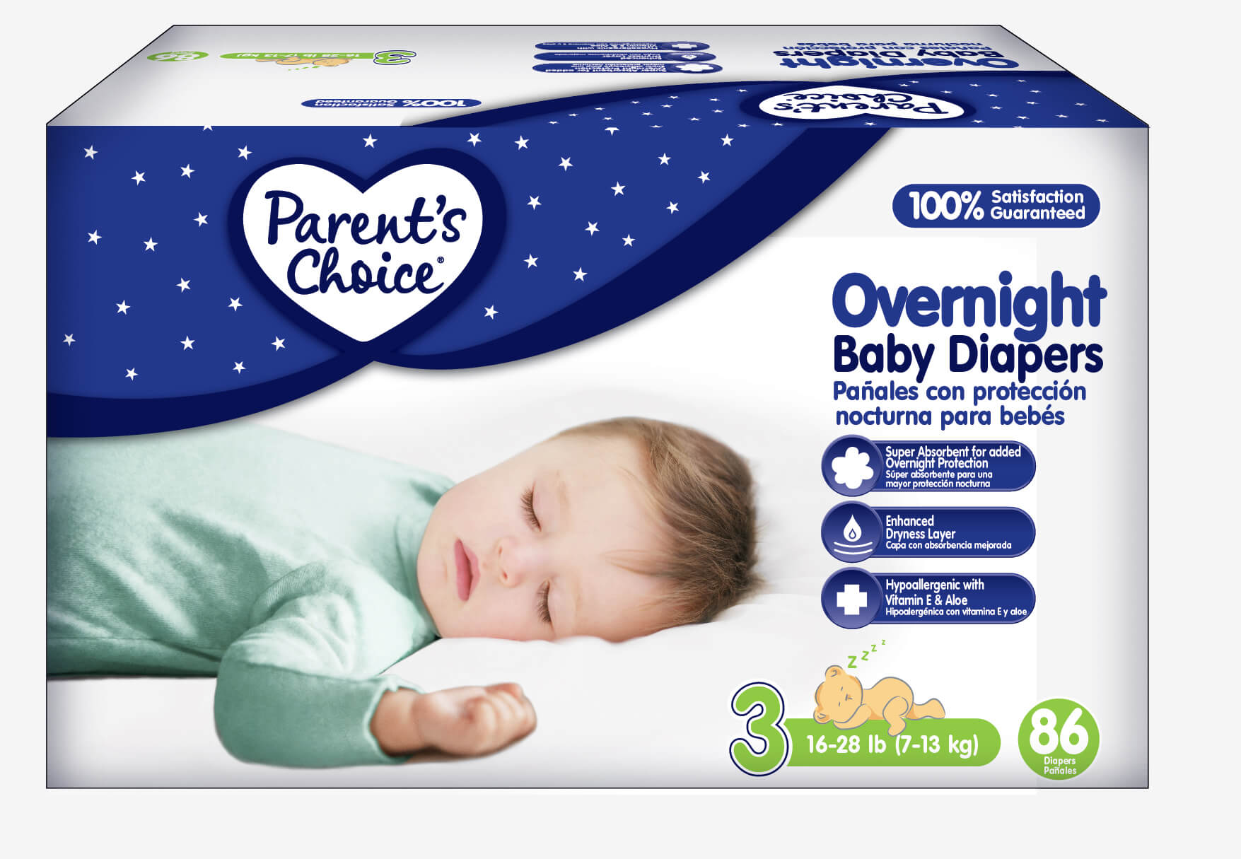 Parent's Choice Overnight Baby Diapers   Singing Through the Rain