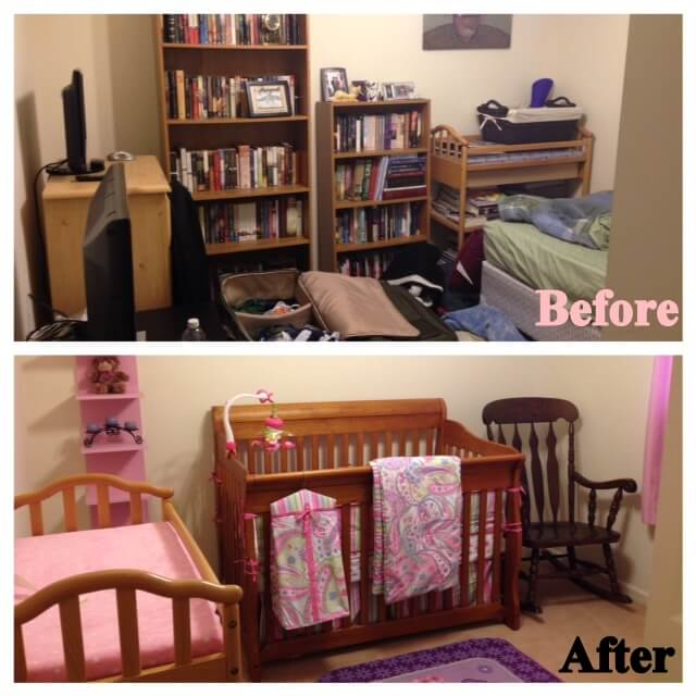 How to turn a small bedroom into a dressing room elizabeth for Walk in closet abbreviation