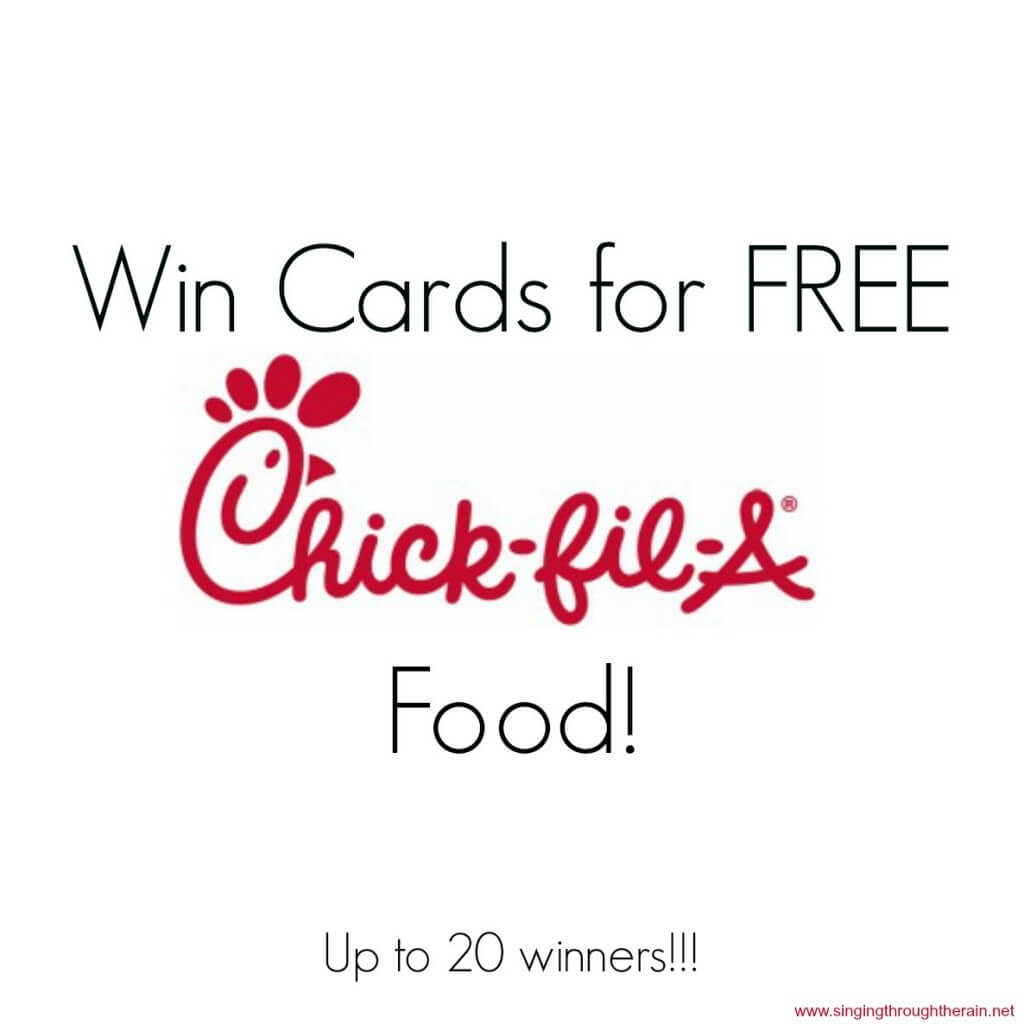 Win Cards For FREE Chick-fil-A Food!!