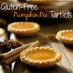 Gluten-Free Pumpkin Pie Tartlets