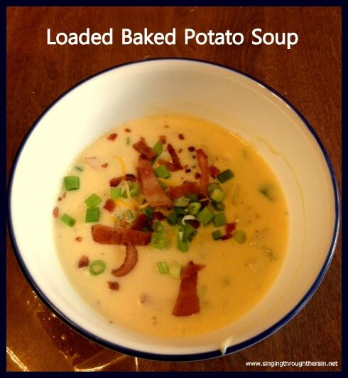 loaded baked potato soup is loaded with cheese and baked potatoes ...