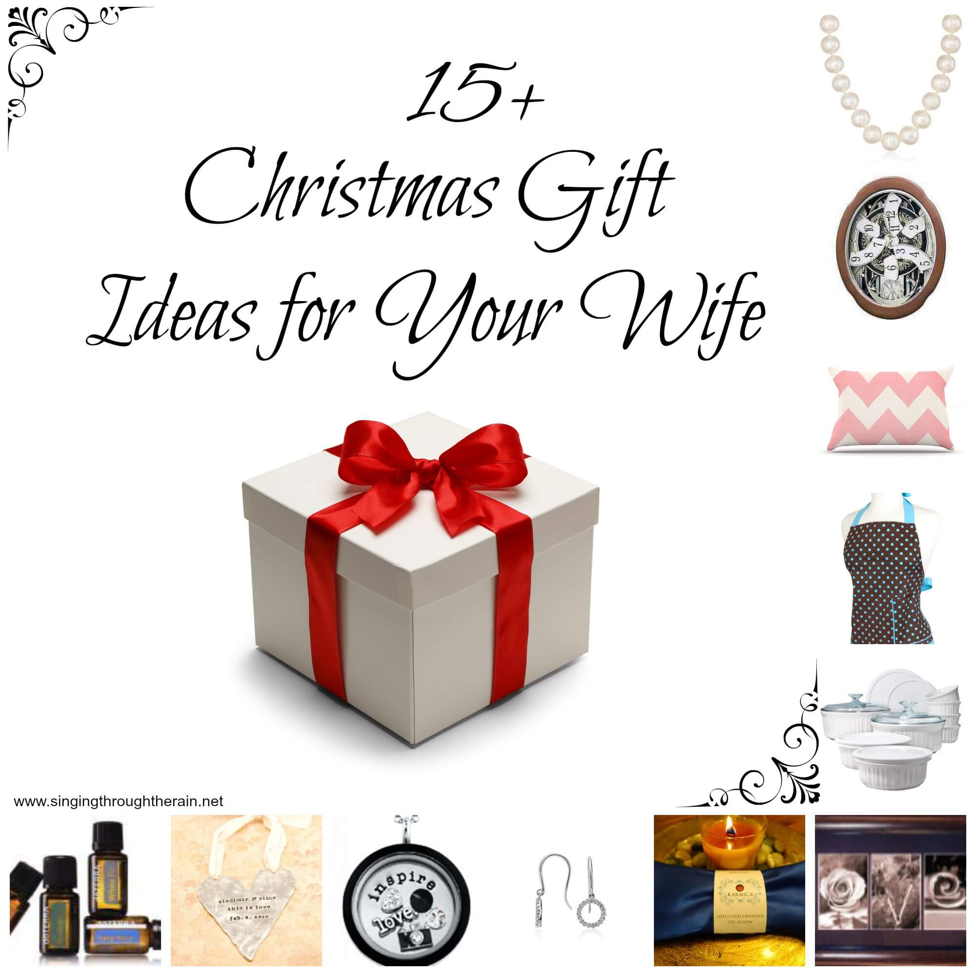 15+ Christmas Gift Ideas for Your Wife | Singing Through the Rain