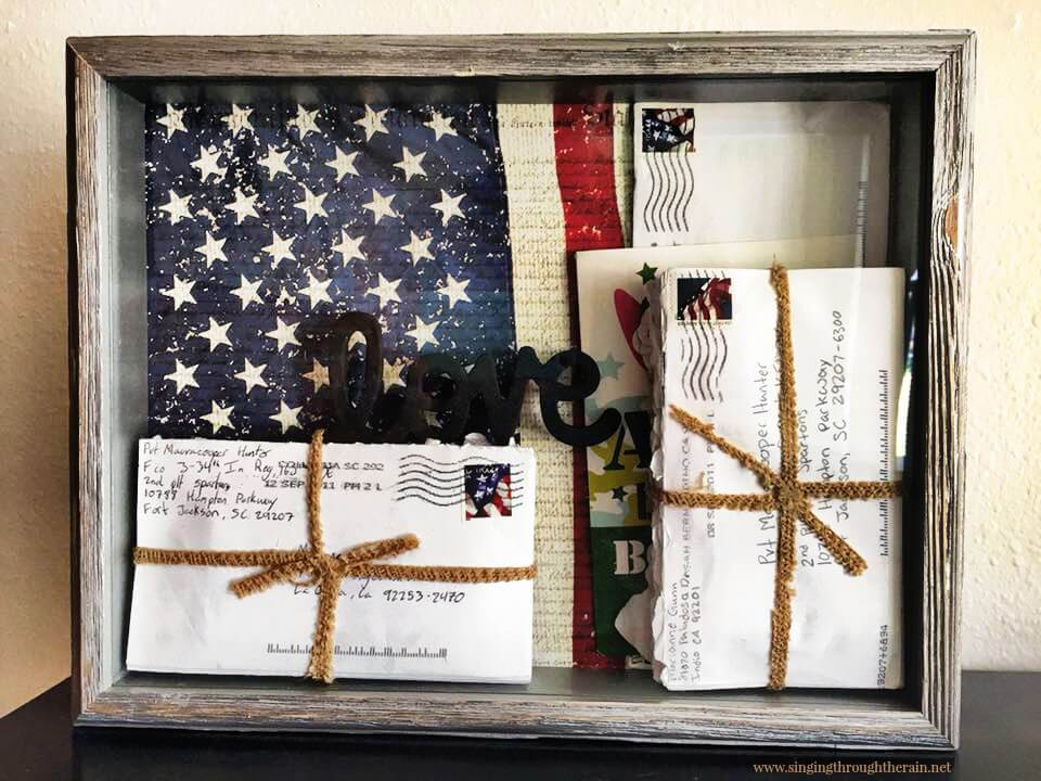 diy military shadow box 2
