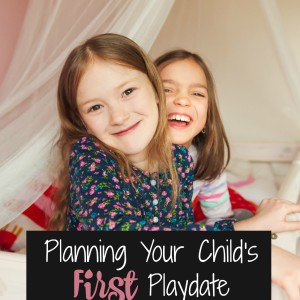 Planning Your Child's First Playdate