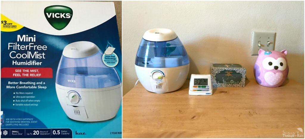 7 things you need when you have a sick child giveaway for Humidifier cleaning fish
